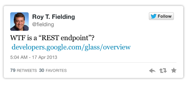 WTF is a REST endpoint?