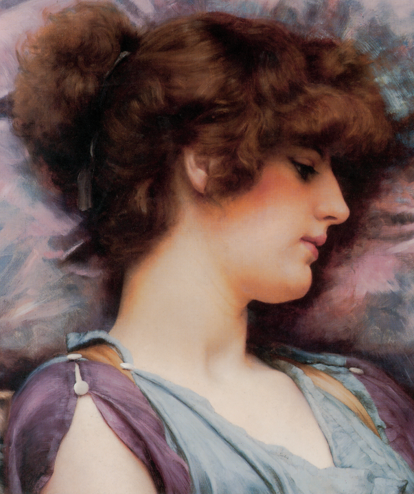 Far Away Thoughts Painted By John William GodWard