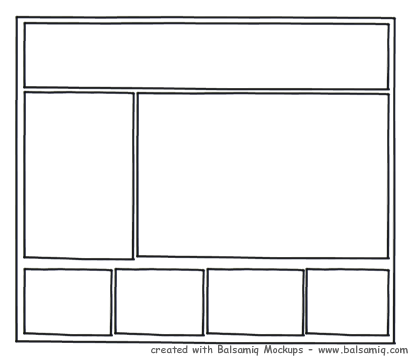 Footer Wireframe