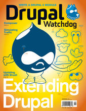 DW 3.02 - Extending Drupal Issue Cover