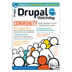 Drupal Watchdog 6.01 is the first issue published by Linux New Media.