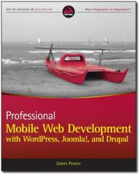 Mobile web development book cover